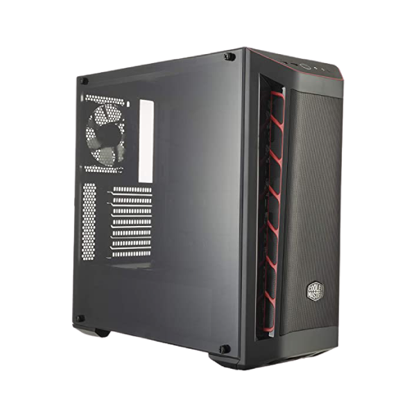 Cooler Master MasterBox MB511 TG Mid Tower (Tempered Glass Side Window) Gaming Desktop Case