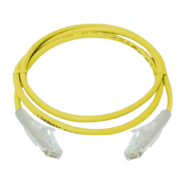 D-Link NCB-C6UYELR1-1 1 m Patch Cable