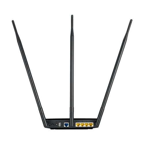 Asus RT-N14UHP High Power N300 3-in-1 Wi-Fi Router  Access Point  Repeater
