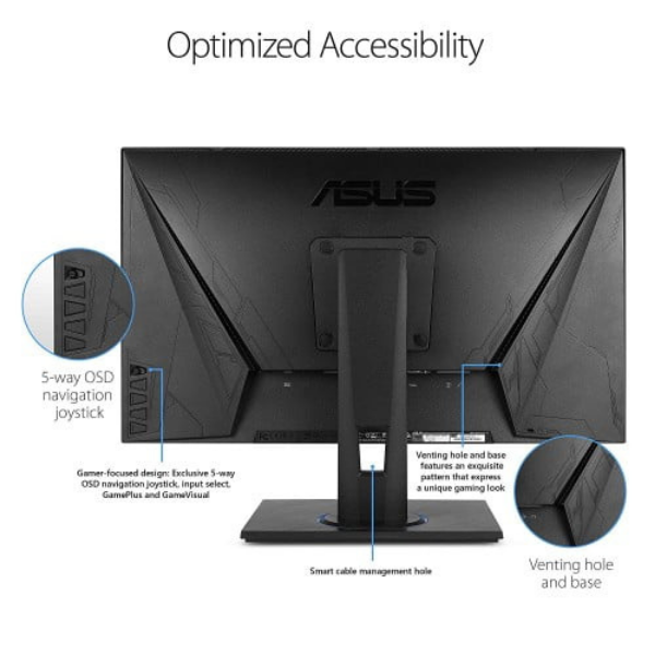 Asus VG245HE 24 inch  Full HD 75Hz FreeSync 1ms Console Gaming Monitor