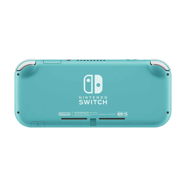 Nintendo Switch Lite Turquoise Blue Gaming Console With Built-In Control Pad