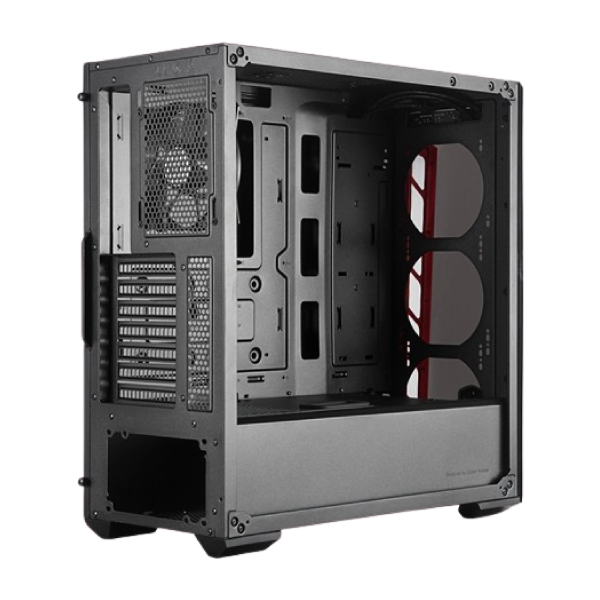 Cooler Master MasterBox MB511 TG Mid Tower (Tempered Glass Side Window) Gaming Desktop Case thumbnail