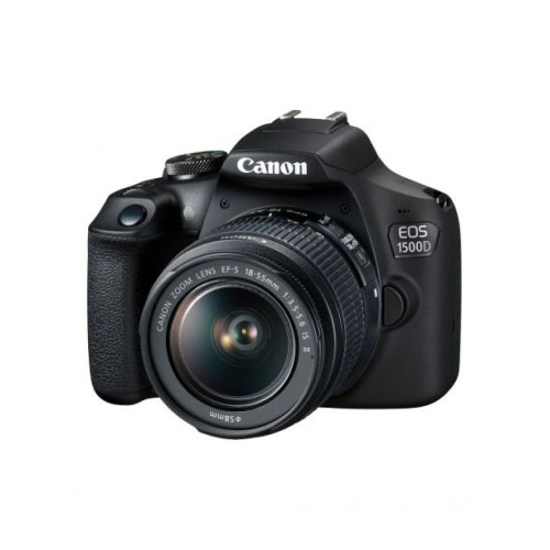 CANON EOS 1500D 24.1MP DSLR Camera With 18-55mm Lens