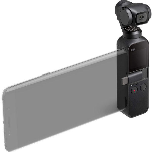 DJI Osmo Pocket Handheld 3-Axis Gimbal Stabilizer with integrated Camera
