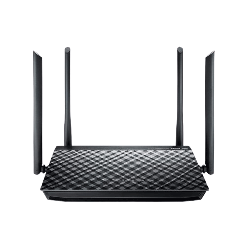 Asus RT-AC1200G AC1200 Dual Band WiFi Router with 4 5dBi antennas