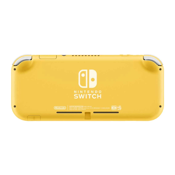 Nintendo Switch Lite Yellow Gaming Console With Built-In Control Pad