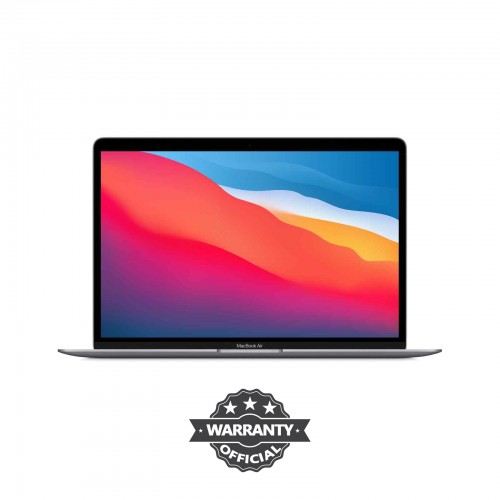 Apple MacBook Air 13.3-Inch Retina Display 8-core Apple M1 chip with 8GB RAM, 256GB SSD Space Gray
