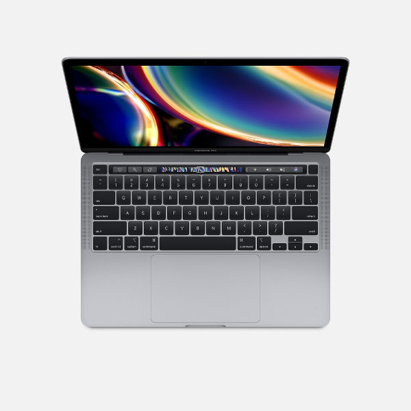 Apple MacBook Pro 13.3-Inch Core i5-1.4GHz 8GB RAM, 256GB SSD With Touch Bar Space Gray 2020 thumbnail