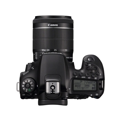 Canon EOS 90D 32.2 MP 4K WI-FI Touchscreen DSLR Camera with EF-S 18-55mm IS STM Lens