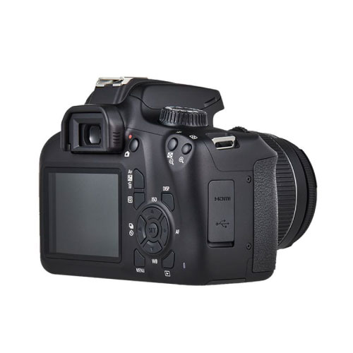 Canon Eos 4000D 18MP DSLR Camera With 18-55mm Lens