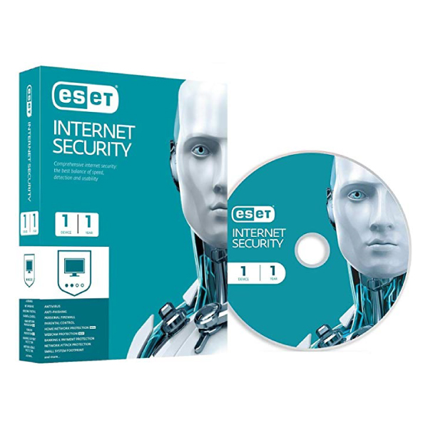 E-Set Internet Security 1 user 1 year subscription