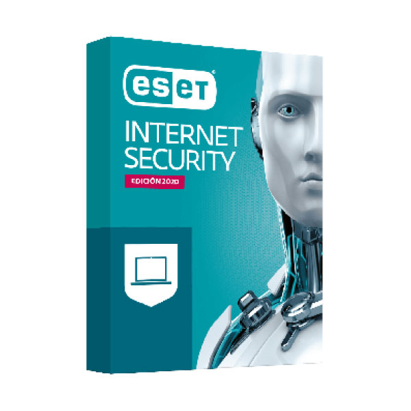 E-Set Internet Security 3 user 1 year subscription