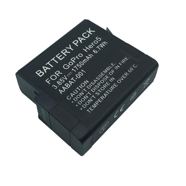 GoPro 1220mAh lithium-ion Rechargeable Battery (No Warranty) thumbnail