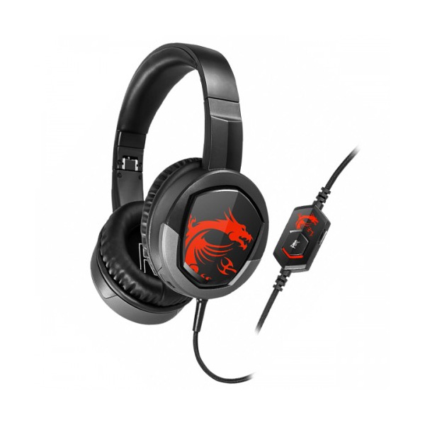 MSI Immerse GH30 V2 Wired Black Gaming Headphone thumbnail