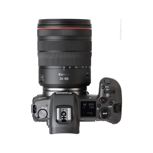 Canon EOS R 30.3MP Full Frame Mirrorless Camera with RF 24-105mm IS USM Lens