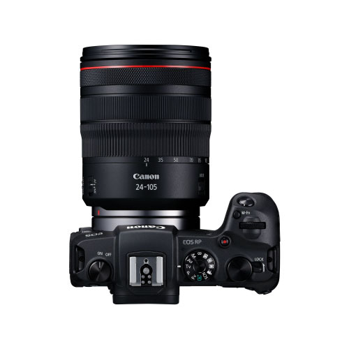 Canon EOS RP 26.2 MP Full Frame Mirrorless Camera with RF 24-105mm IS USM Lens thumbnail