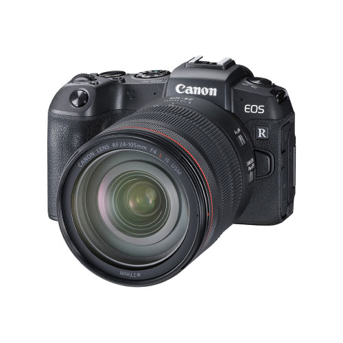 Canon EOS RP 26.2 MP Full Frame Mirrorless Camera with RF 24-105mm IS USM Lens