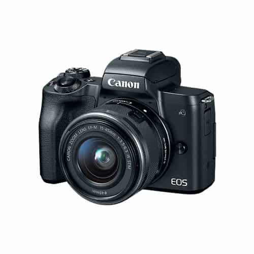 CANON EOS M50 24.1 MP Mirrorless Camera with 15-45mm IS STM Kit Lens thumbnail