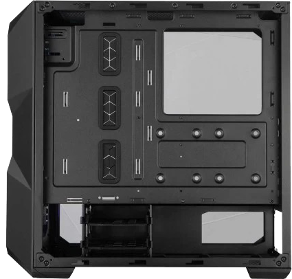 Cooler Master TD500 MESH ARGB Black Mid Tower (Crystalline Tempered Glass Side Window) Gaming Case thumbnail