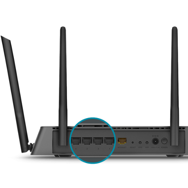 D-Link WiFi Smart Router AC1900 Wireless Dual Band Router (DIR-878)