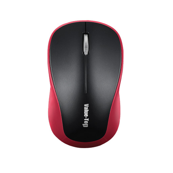 Value-Top VT-310W Metallic Scroll Wireless Optical Mouse with Battery