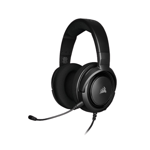 Corsair HS35 Wired Black Stereo Gaming Headset