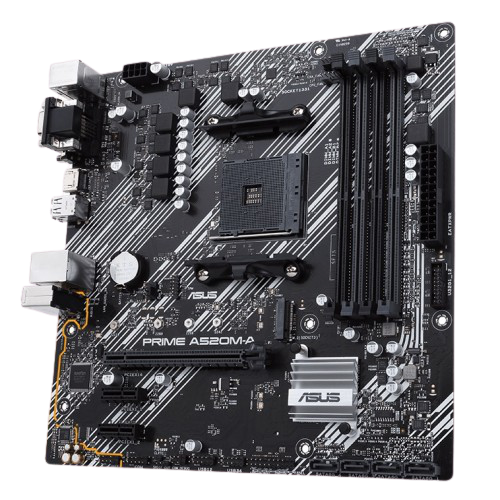 Asus Prime A520M-A Micro ATX AM4 Motherboard