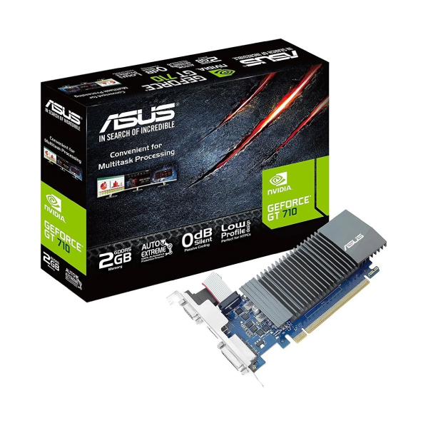 Asus GeForce GT 710 2GB DDR5 Graphics Card